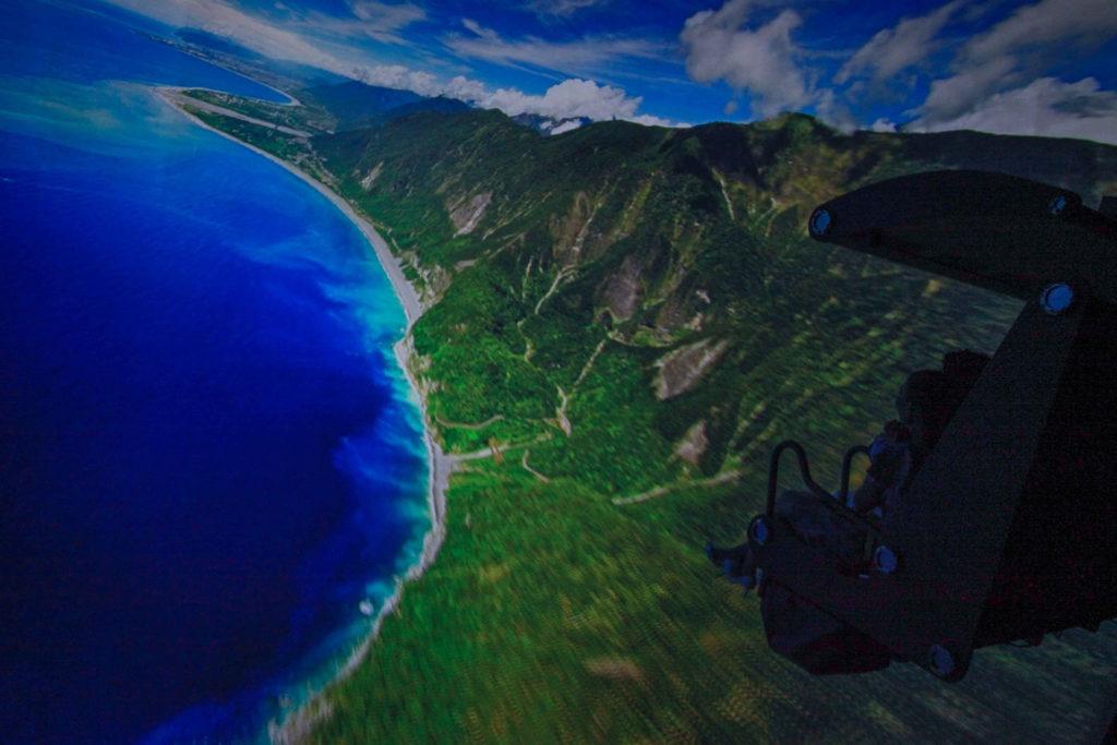 i-Ride飛行劇院體驗情境