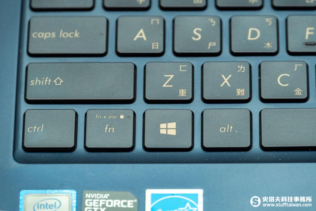 ZenBook 15 UX533的fn鍵