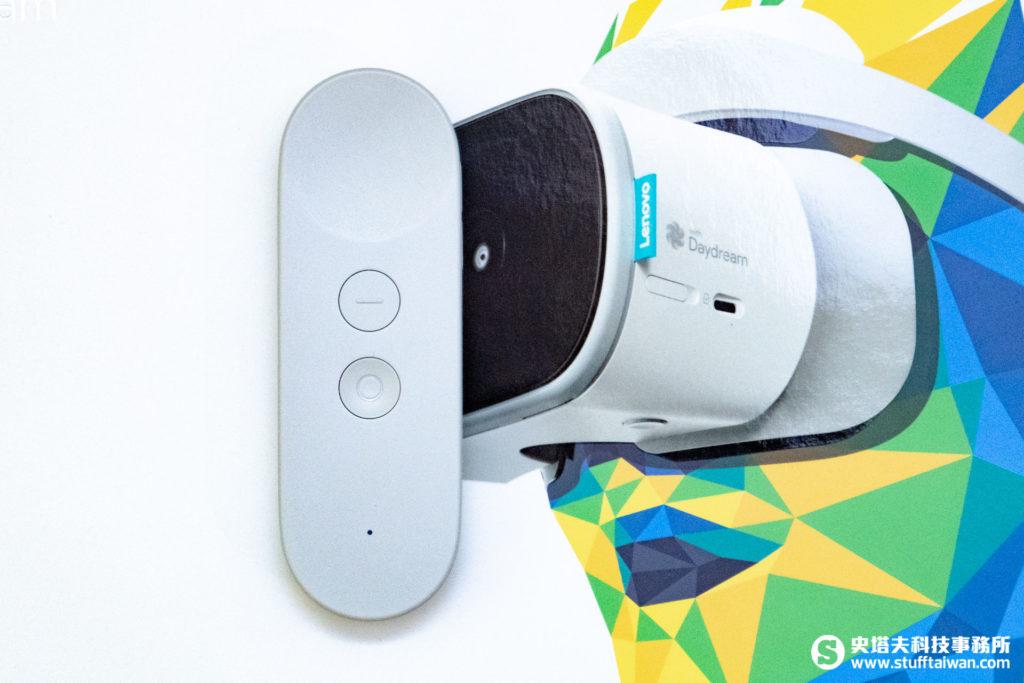 Mirage Solo的無線Daydream體感控制器