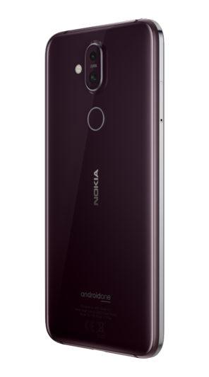 Nokia 8.1絳月紅-單機圖-1