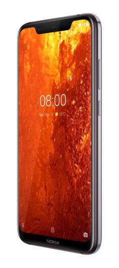 Nokia 8.1絳月紅-單機圖-6