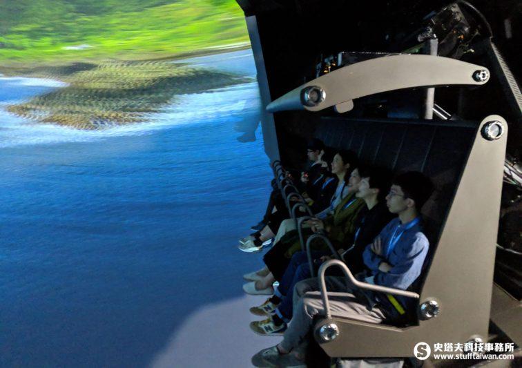 VR飛行劇院觀賞情境