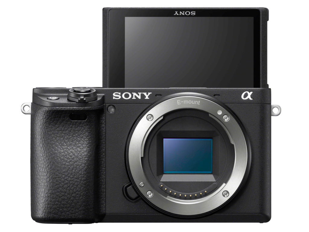 Sony α6400機身正面