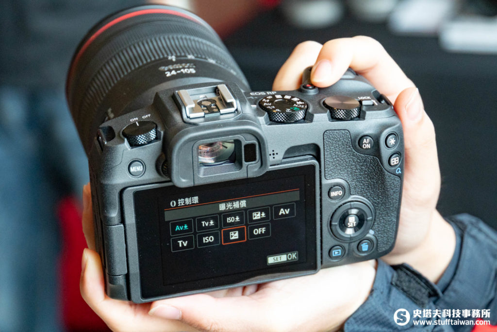RF鏡頭控制環功能自訂畫面