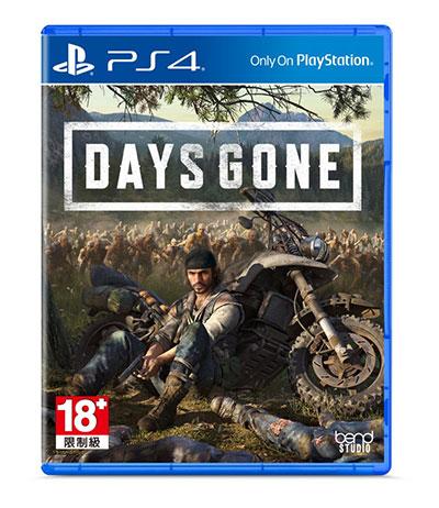 《Days Gone》遊戲光碟包裝