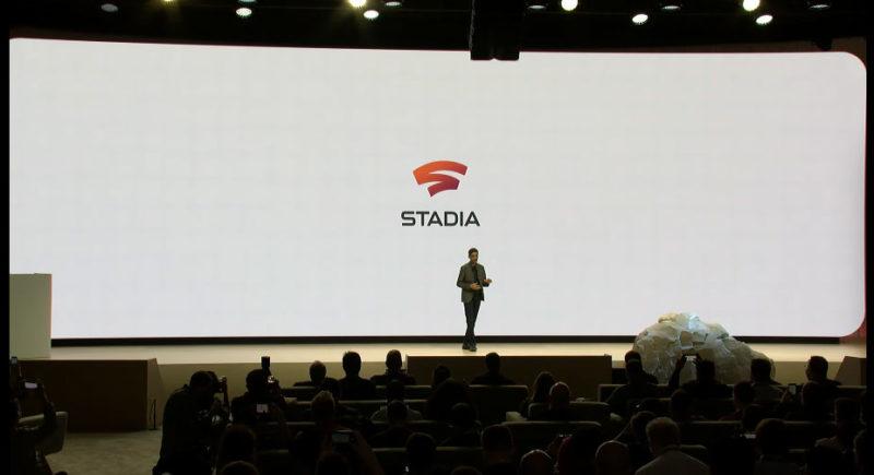 Stadia發表會螢幕截圖
