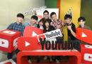 YouTube大中華區策略合作夥伴經理黃少宇(中)與多位創作者