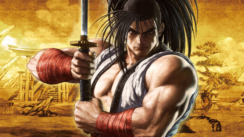《SAMURAI SHODOWN》遊戲主視覺