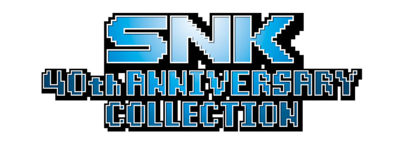 《SNK 40th Anniversary Collection》遊戲LOGO