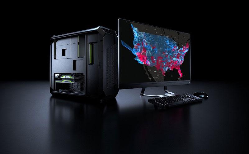 NVIDIA針對資料科學應用推出高效能工作站