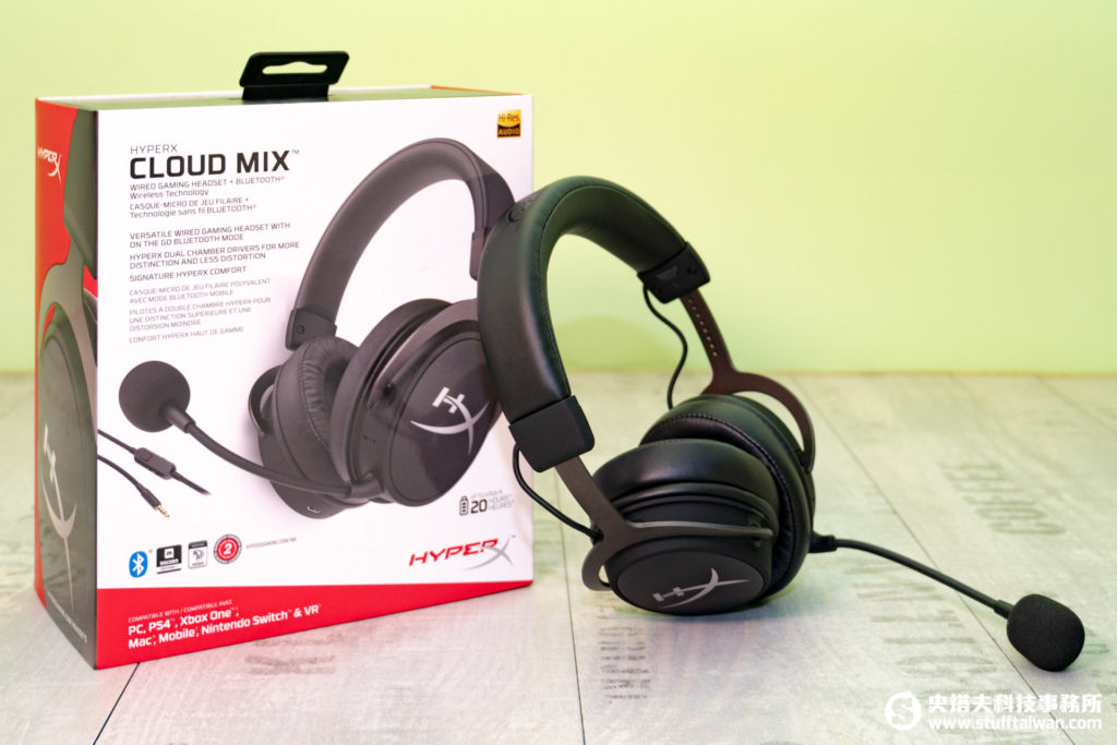 HyperX Cloud Mix電競耳機