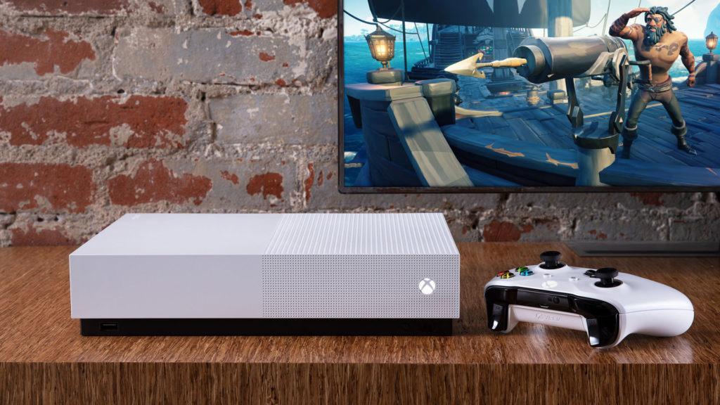 微軟全新遊戲主機「Xbox One S 全數位版」
