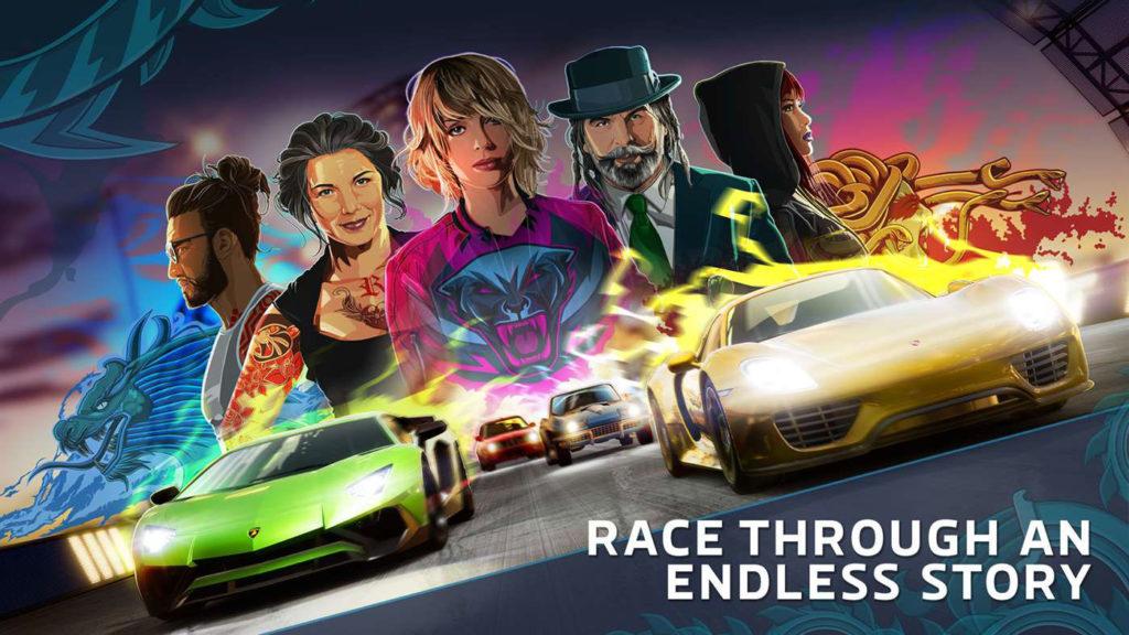 《極限競速街頭賽》搭故事模式廣宣
