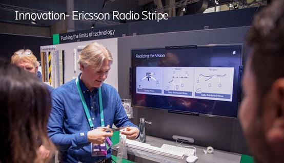 愛立信在MWC 2019展示Radio Stripe