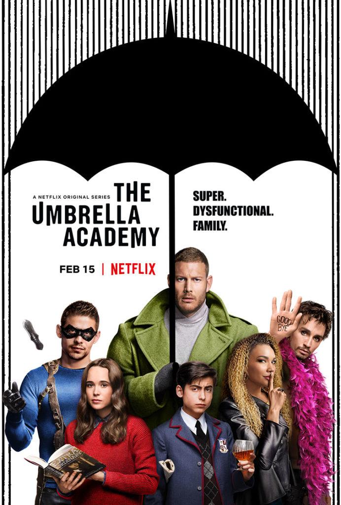 《雨傘學院》海報