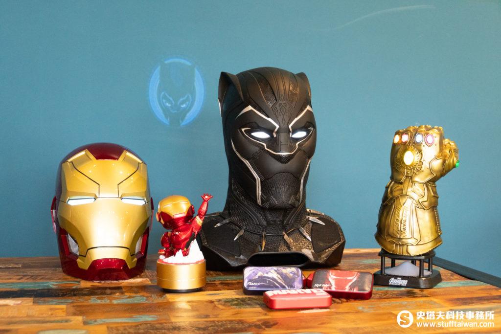 1:1大小黑豹、鋼鐵人Mark46及其他藍牙喇叭