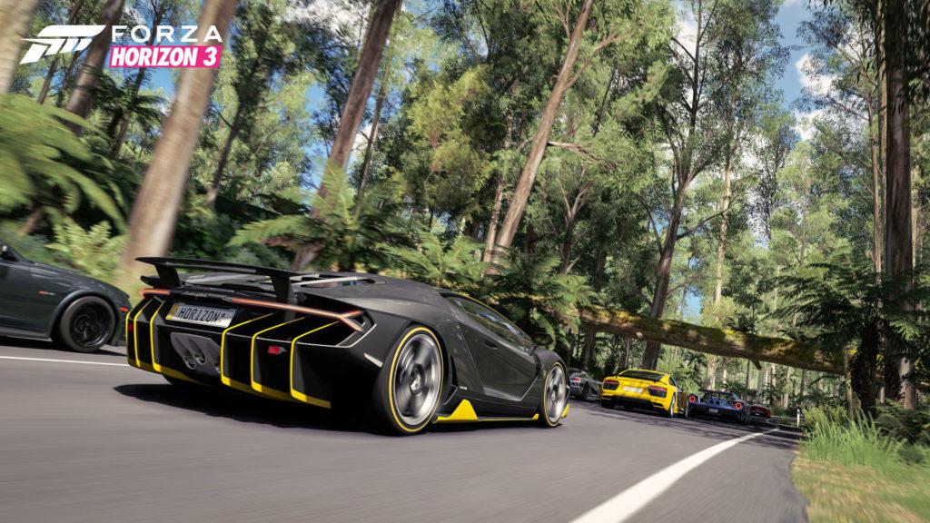 《極限競速:地平線 3》主視覺