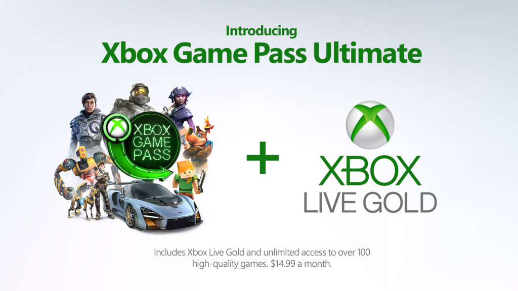 Xbox Game Pass Ultimate廣宣