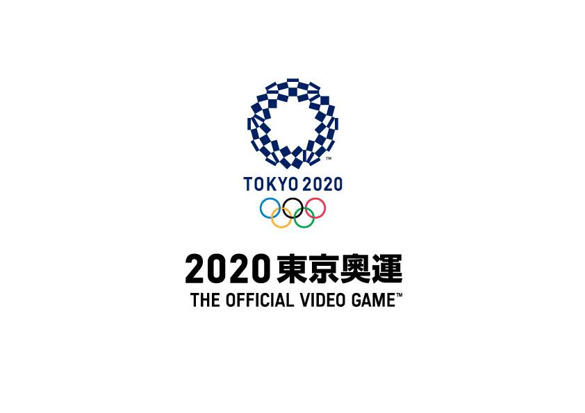 2020東京奧運 THE OFFICIAL VIDEO GAME遊戲LOGO
