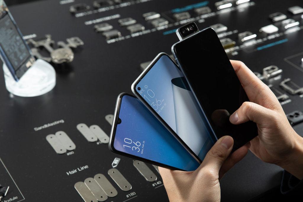 水滴屏、打孔屏都曾經參與ZenFone 6的演變過程