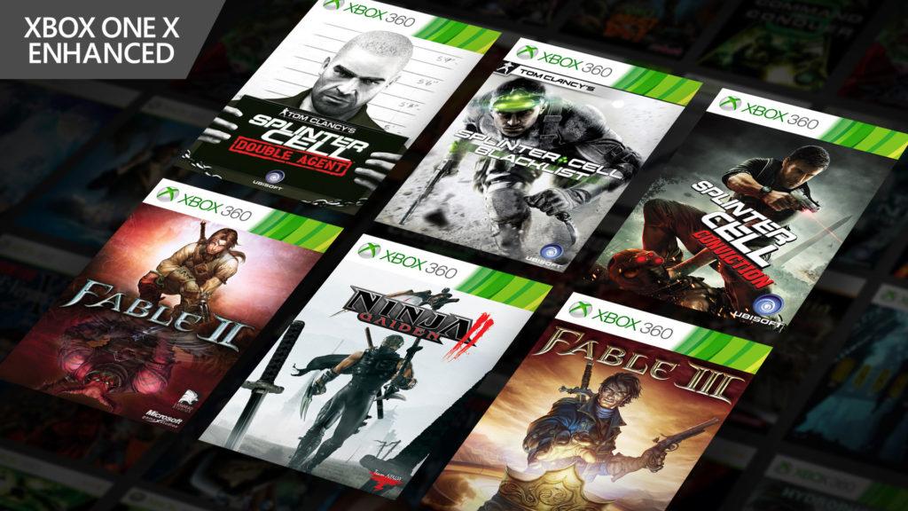 6款Xbox One X向下相容的Xbox 360遊戲包裝