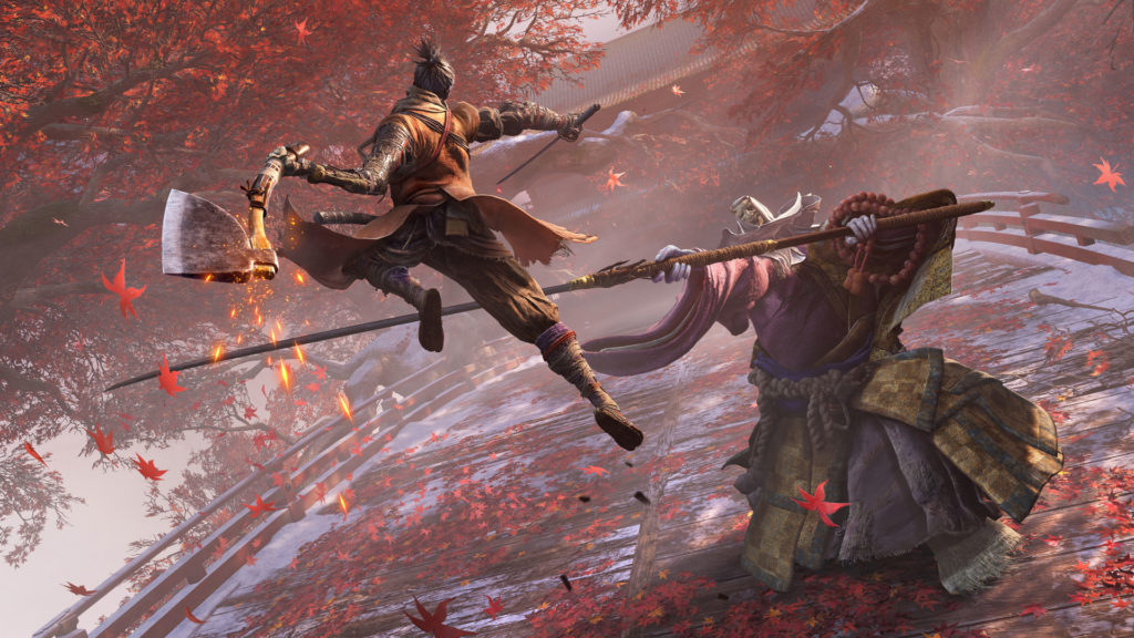 《Sekiro: Shadows Die Twice》遊戲畫面
