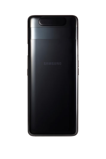 GalaxyA80魅影黑_背面