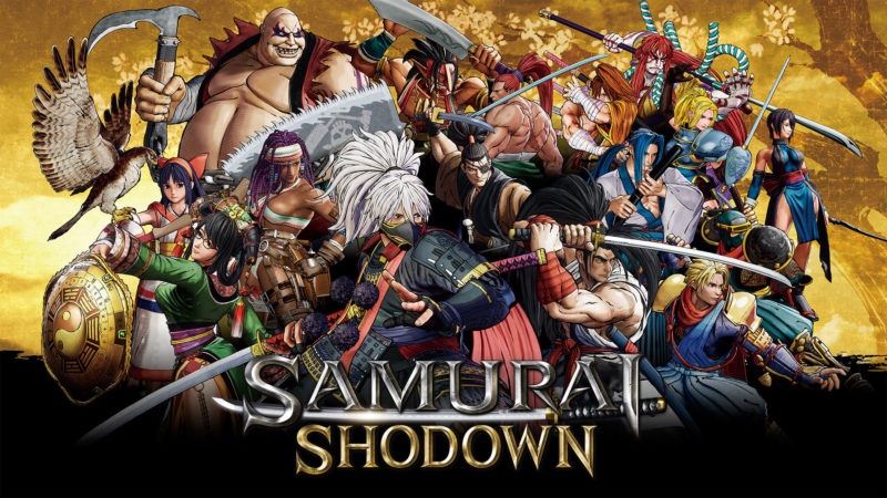 《SAMURAI SHODOWN》遊戲宣傳圖