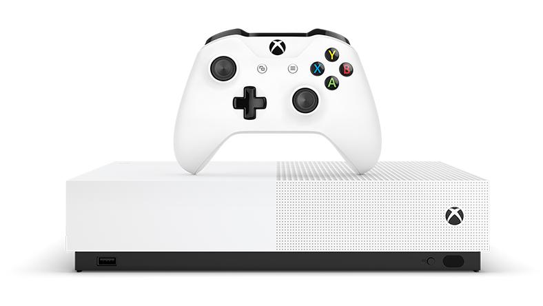 Xbox One S全數位版