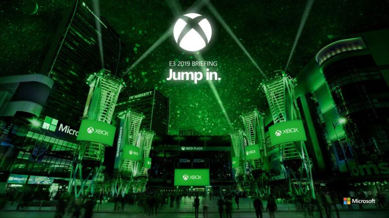 微軟E3 2019發表會情境照