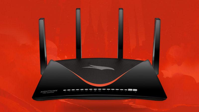 Nighthawk Pro Gaming XR700電競路由器