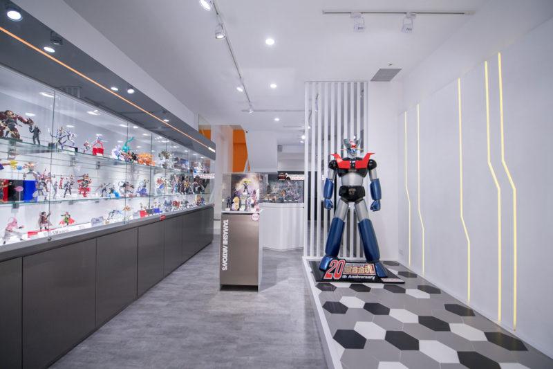 台灣萬代南夢宮收藏玩具事業部第二間官方展示店