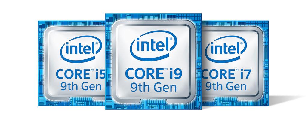 Intel第九代高效能行動處理器標誌