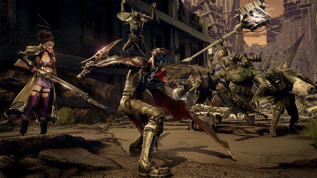 《CODE VEIN 噬血代碼》遊戲畫面