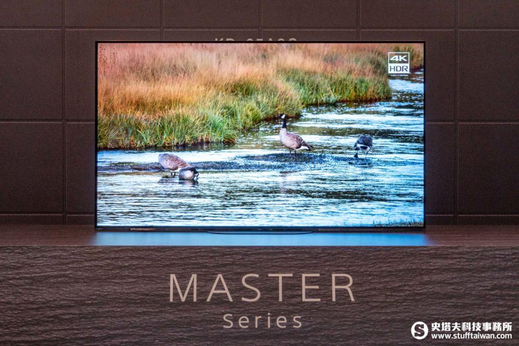 Sony 4K HDR OLED電視A9G