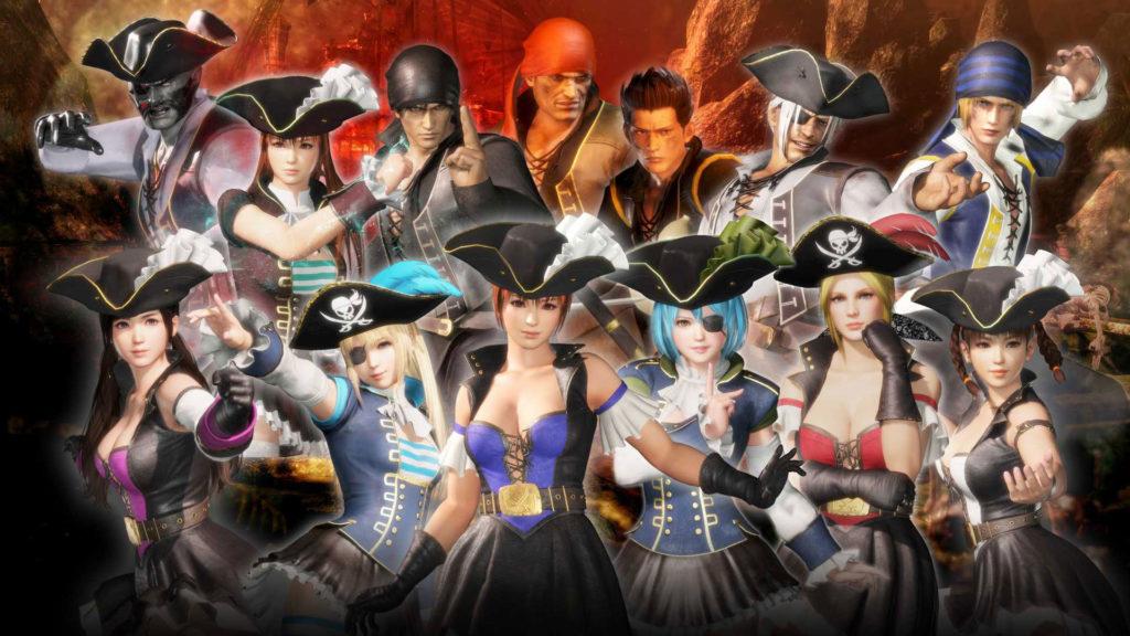 《DEAD OR ALIVE 6》七海海盜服裝Vol.2