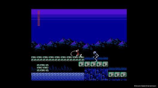 《Castlevania Ⅱ Simon's Quest》遊戲畫面