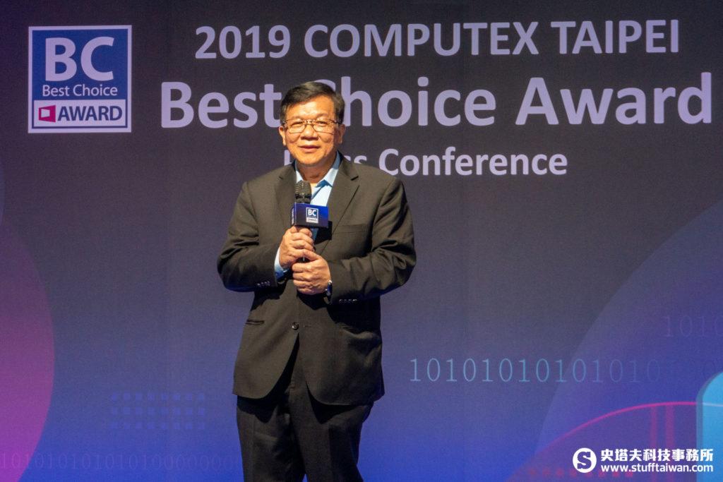 BC Award總評審長李世光博士