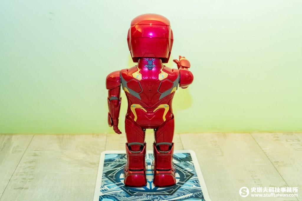 鋼鐵人MARK50機器人背面