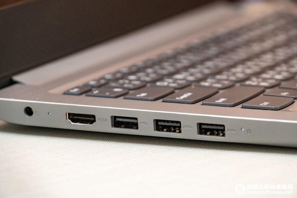Lenovo IdeaPad S145左側連接埠