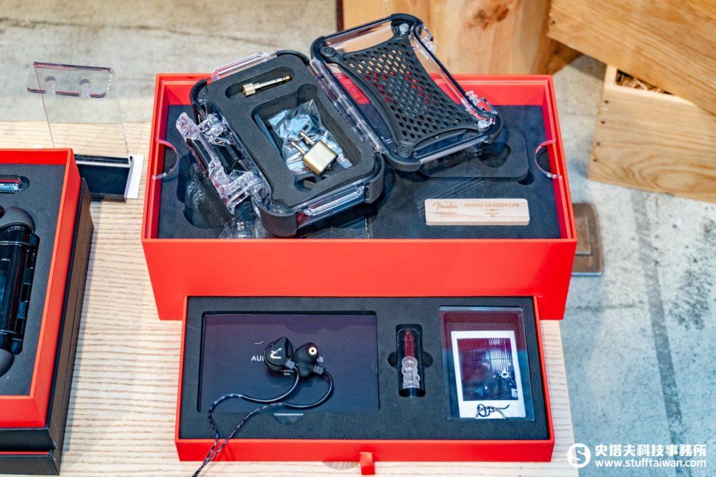 Fender PRO IEM THIRTEEN-6入耳式監聽耳機