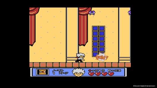 《悪魔城すぺしゃる ぼくドラキュラくん(Kid Dracula)》遊戲畫面