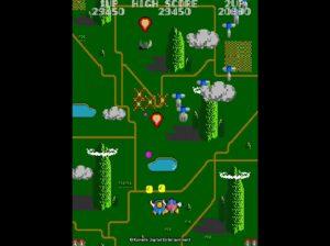 《TwinBee》遊戲畫面