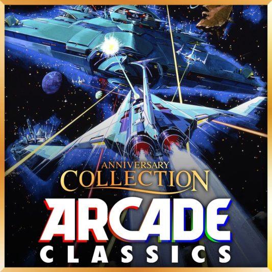 《經典街機週年慶合輯 Arcade Classics Anniversary Collection》遊戲主視覺