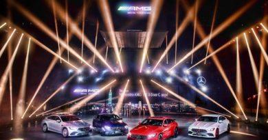 Mercedes-AMG性能家族全員驅動!GT 4 Door Coupé開啟嶄新跑車篇章
