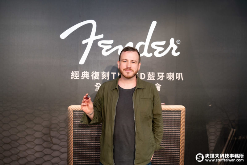 Fender PRO IEM系列入耳式監聽耳機產品經理Andy Rowley