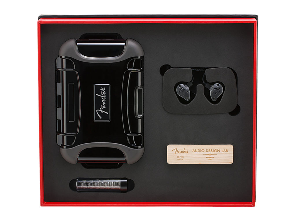Fender PRO IEM TEN-3 入耳式監聽耳機