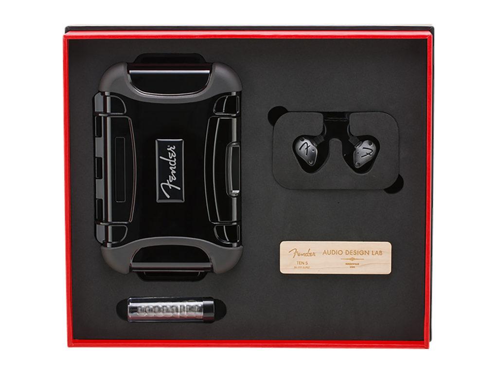Fender PRO IEM TEN-5 入耳式監聽耳機規格表