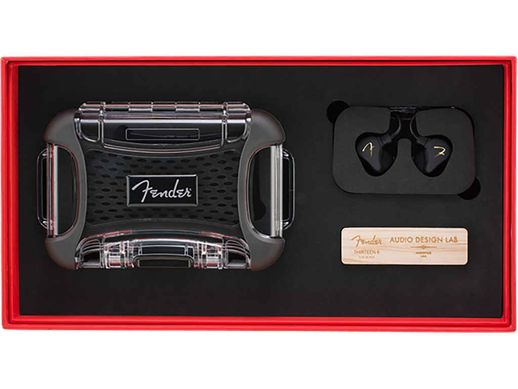 Fender PRO IEM THIRTEEN-6 入耳式監聽耳機