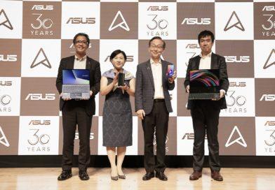 華碩董事長施崇棠赴日發表最新ZenBook系列筆電與ZenFone 6智慧型手機